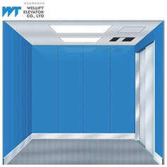 Large Width Door Goods And Passenger Lift 380V / Local Voltage For Bulk Goods