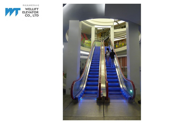 High Insulating Level Commercial Escalator , Economical Outside Escalator Speed ≤0.5m/s