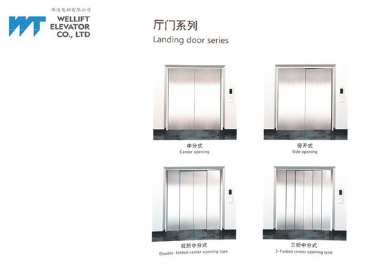 High Sensitivity Freight Lift Elevator / Goods Elevator Multiple Opening Modes Available